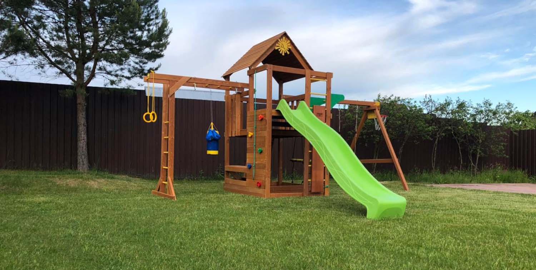 Детские площадки для дачи с установкой