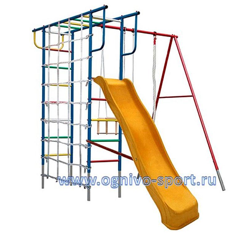 Вертикаль-П с сеткой и горкой 3.0 м