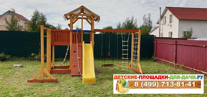 Детская площадка для дачи Савушка 15 сборка 700