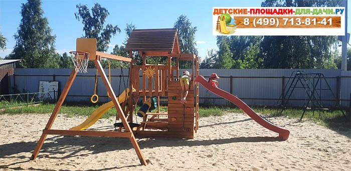 Детская площадка Крафт Pro 5 сборка
