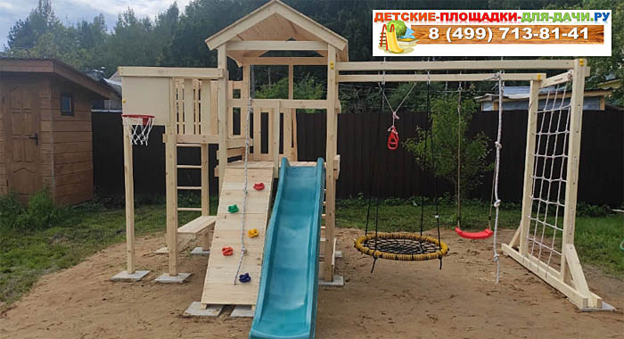 Детская площадка Савушка Мастер 4 доп сборка