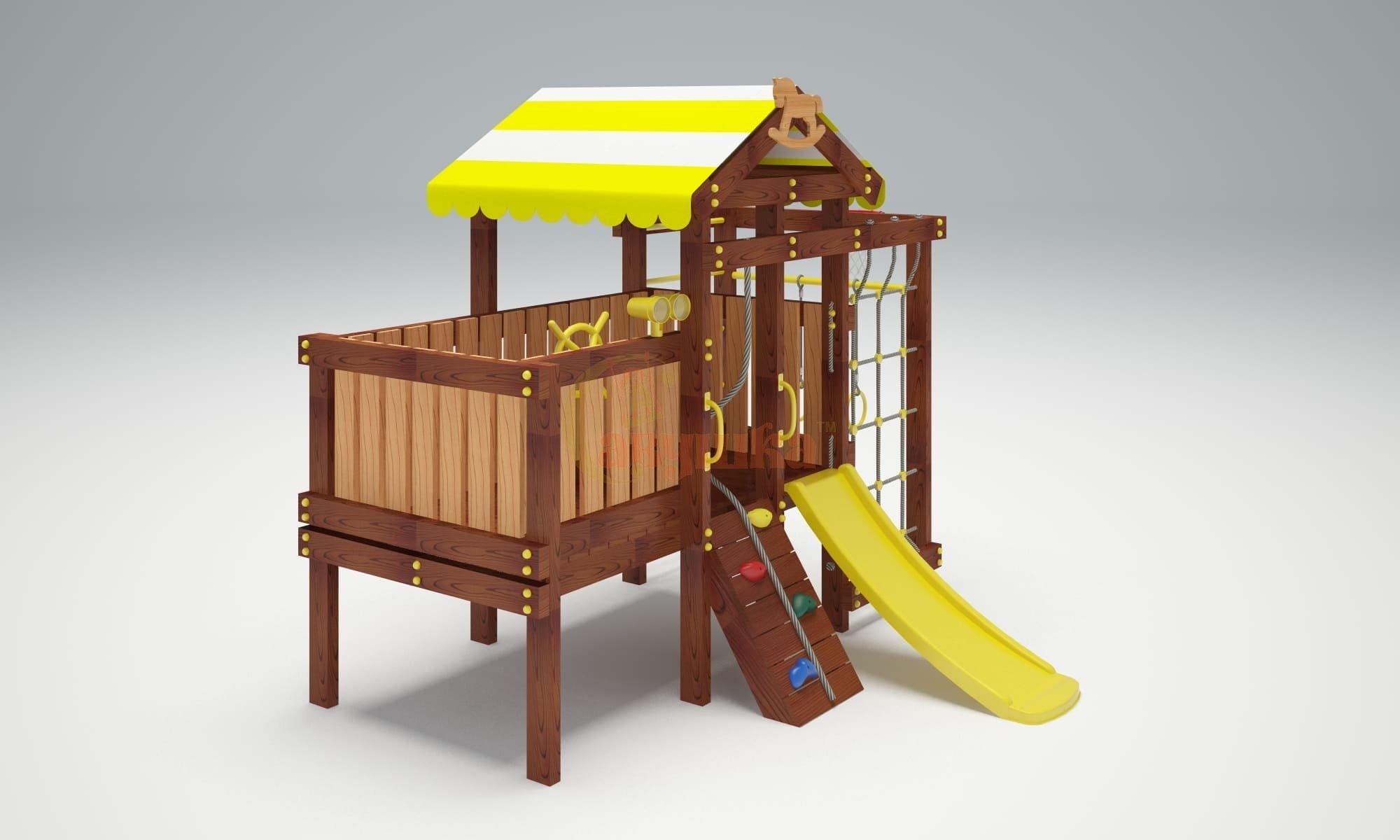Детская площадка Савушка Baby play 3-1