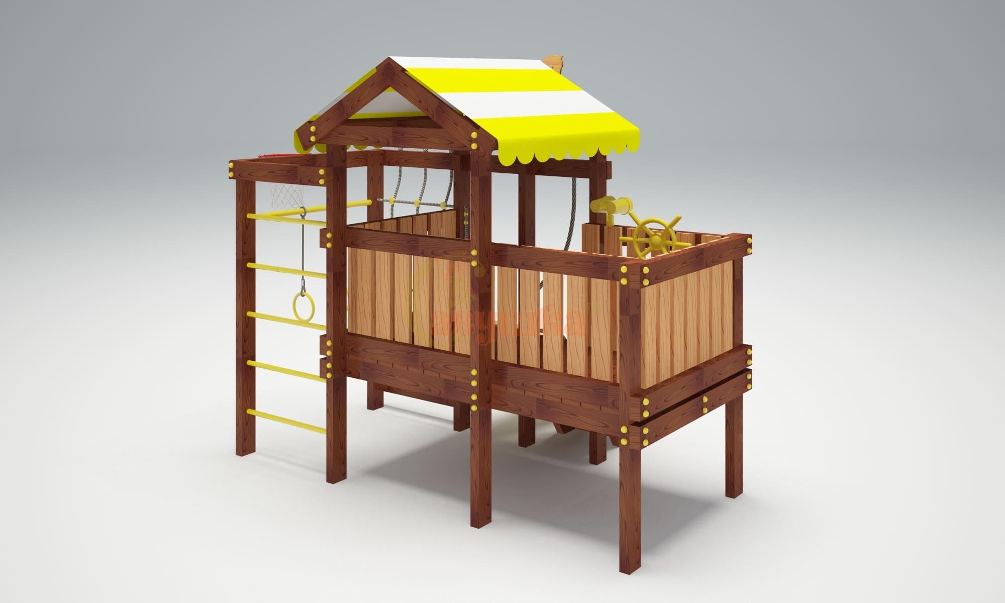 Детская площадка Савушка Baby play 3-4