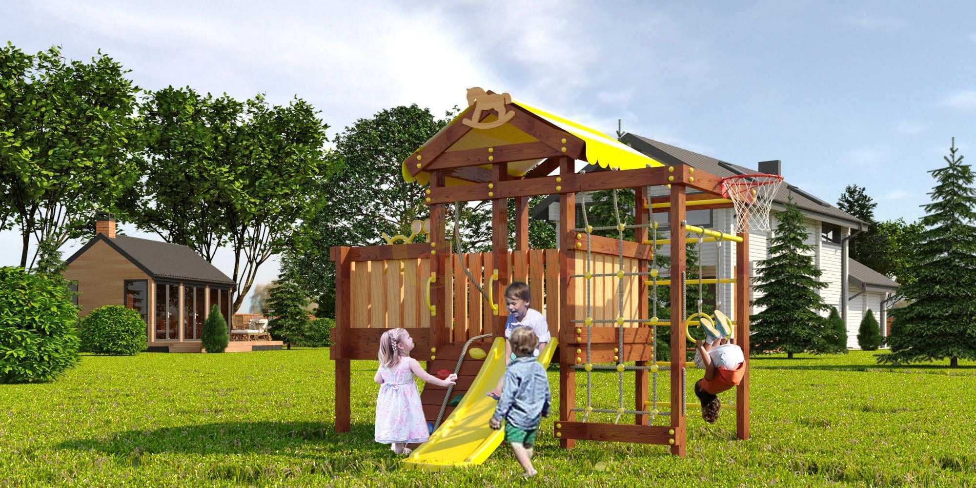 Детская площадка Савушка Baby play 3