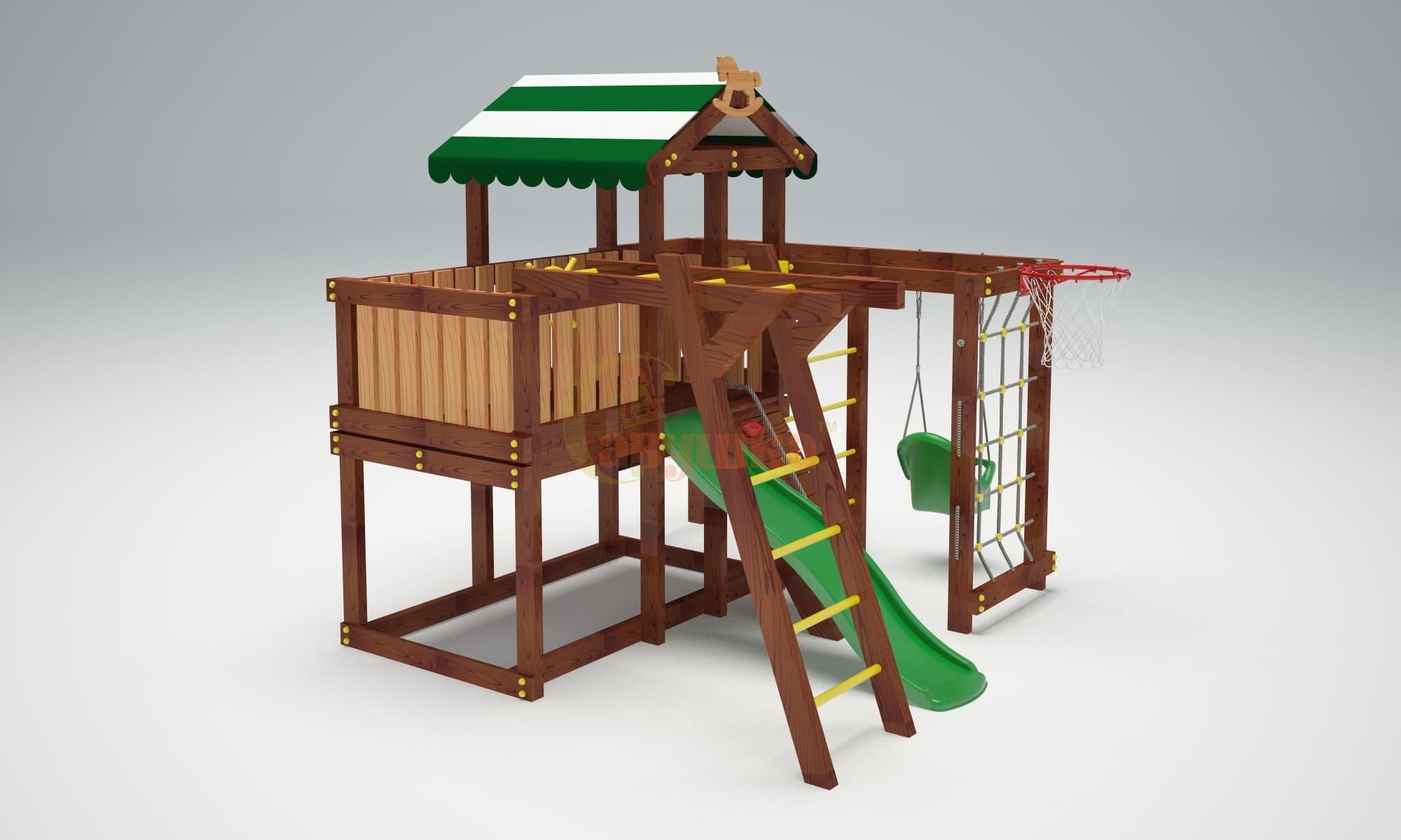 Детская площадка Савушка Baby play 5-1