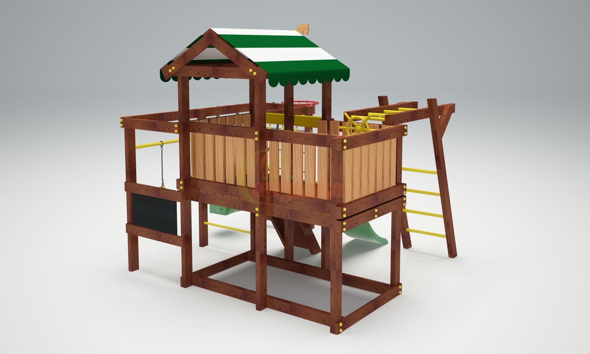 Детская площадка Савушка Baby play 5-4