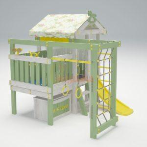 Игровой комплекс Савушка Baby 1 оливковый
