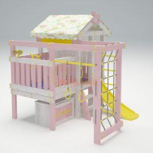 Игровой комплекс Савушка Baby 1 розовый