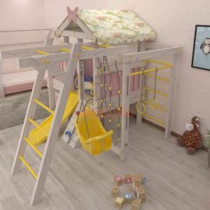 Игровой комплекс Савушка Baby 2 розовый