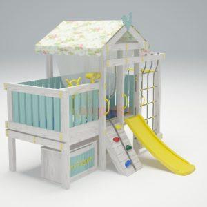 Игровой комплекс Савушка Baby 3 голубой