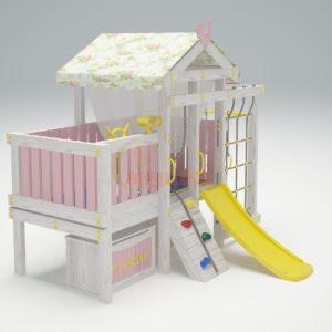 Игровой комплекс Савушка Baby 3 розовый