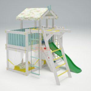 Игровой комплекс Савушка Baby 4 голубой