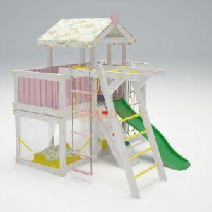 Игровой комплекс Савушка Baby 4 розовый