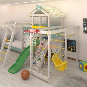 Игровой комплекс Савушка Baby 5 голубой