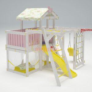 Игровой комплекс Савушка Baby 5 розовый