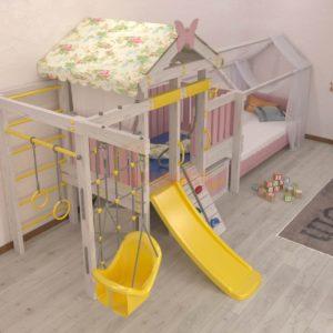 Игровой комплекс Савушка Baby 6 розовый