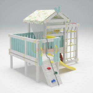 Игровой комплекс Савушка Baby 7-1 голубой