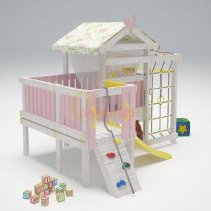 Игровой комплекс Савушка Baby 7-1 розовый