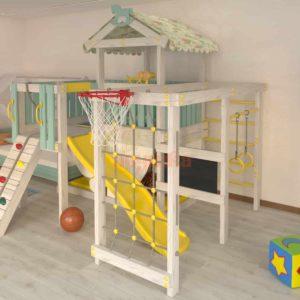 Игровой комплекс Савушка Baby 8 голубой