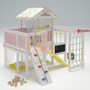 Игровой комплекс Савушка Baby 8 розовый