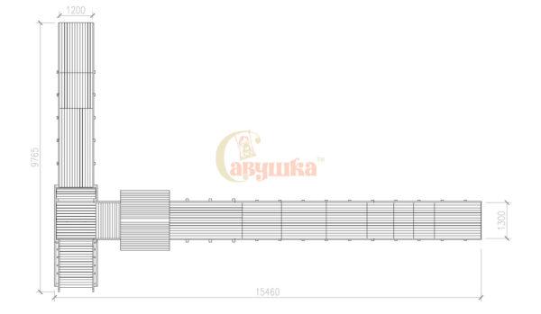 Зимняя горка Савушка Зима-10-9