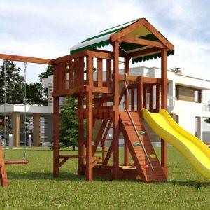 Детская площадка Савушка Мастер 1 (Махагон)